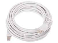Кабель USB A -> B 5.0м Telecom