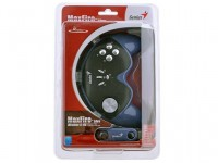 Джойстик USB Genius G12X Wireless (беспроводной / PC / throttle / 4btn / Vibro