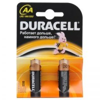Элемент питания AAA уп.2шт. Duracell <MN2400> (1.5V, Alkaline)