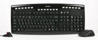 Комплект беспроводной A4-Tech 9200F Black (Кл-ра,USB,FM+Мышь,5кн,USB,Roll)