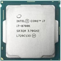 Процессор Intel Core i7-8700KSoc-1151v2 (3.7 GHz / 6core / SVGA UHD Graphics 630 / 1.5+12Mb / 95W) OEM