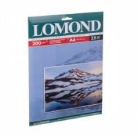 Фотобумага A4, глянцевая, 200 г / м2, 25 листов, Lomond (0102046)