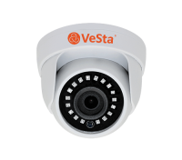 Купольная камера AHD VC-2201 1MPx 25fps (М002, f=2,8, Белый,IR)