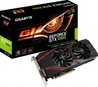 Видеокарта NVIDIA GeForce GTX 1060 6Gb GDDR5 GIGABYTE GV-N1060G1 GAMING-6GB (RTL) DVI+HDMI+3xDP