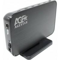 Корпус для HDD 3.5 USB3.0->SATA AgeStar <3UB308>