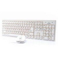 Комплект USB SVEN Standart 310 White (106КЛ+Мышь,3кн,Optical,Roll)