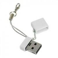 Флешка USB 4Gb Qumo Nanodrive <QM4GUD-NANO-W> White