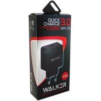 Зарядное уст-во WALKER 2.4A универсальное (QC / WH-25)