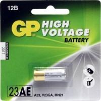 Элемент питания A23 уп.1шт. GP 23AE Ultra (V23GA, MN21) (12V, Alkaline)