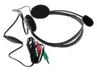 Полноразмерные наушники с микрофоном Defender HN-102 (18Гц–20кГц / 1.8м / 2x-jack3.5)+регулировка