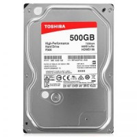 HDD 3.5 500 Gb Toshiba P300 <HDWD105UZSVA> 7200rpm 64Mb SATA-III