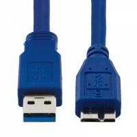 Кабель microUSB3.0 -> USB3.0 1.8м Telecom (для внешнего)