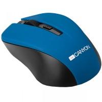 Мышь беспроводная USB CANYON  CNE-CMSW1BL