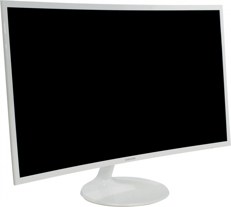 "Монитор - 31.5"" Samsung C32F391FWI White (VA,Glos,16:9,1920x1080,4ms,250cd / m2,170° / 160°,HDMI, DP)"