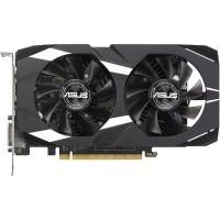 Видеокарта NVIDIA GeForce GTX 1050 2Gb Asus <DUAL-GTX 1050-O2G-V2> GDDR5 128b (RTL) DVI+HDMI+DP