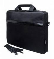 Сумка для ноутбука 15.6 PC Pet PCP-1002BK (полиэстер, черная)