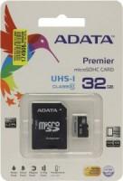 Флешка microSDHC 32Gb A-Data <AUSDH32GUICL10-RA(1)> UHS-I с адаптером