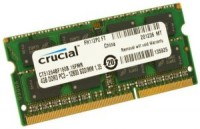 Память DDR3 SO-DIMM 4Gb <PC3-12800> Crucial <CT51264BF160B(J)> CL11
