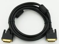 Кабель DVI-D -> DVI-D (25M-25M) 1.8м феррит. кольца