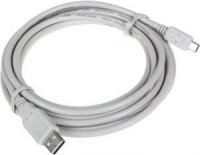 Кабель miniUSB -> USB 1.0м Telecom <A-MINI 5P> White