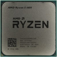 Процессор AMD Ryzen 5 1600 AM4 (YD1600BBM6IAF) 3.2 GHz / 6core / 3+16Mb / 65W Socket AM4 (OEM)