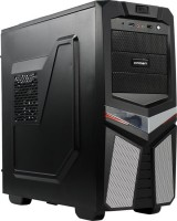 Корпус ATX 650W Meditower Crown Micro <CMC--GS03 CM-PS650SMART> Silver (24+2x4+6пин)