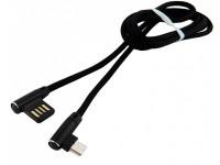Кабель microUSB -> USB 1.0м WALKER C770