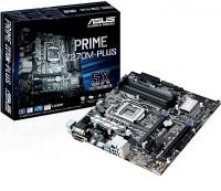 Материнская плата ASUS PRIME H270M-PLUS (RTL) LGA1151 < H270 > 2xPCI-E Dsub+DVI+HDMI GbLAN SATA MicroATX 4DD