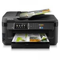 Принтер МФУ Epson WorkForce WF-7610+снпч (A3 / 5760*1440dpi / 13стр / 4цв / струйный / WiFi / сетевой / факс)