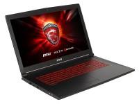 Ноутбук 17,3 MSI GL72M intel i7 7700HQ / 8ГБ / 1ТБ / GTX 1050 / noODD  / DOS / Black (9S7-1799E5-1485)