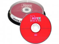 Диск CD-R Mirex 700Mb 48x Cake Box (100шт)
