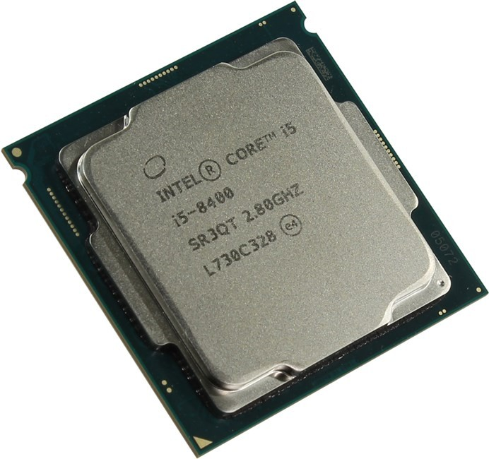 Процессор Intel Core i5-8400 2.8 GHz / 6core / SVGA UHD Graphics 630 / 1.5+9Mb / 65W / 8 GT /  (OEM)