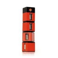 Концентратор Konoos UK-05 Небоскреб (4 порта / USB2.0)