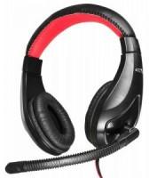 Полноразмерные наушники с микрофоном Oklick HS-L100 (20Гц–20кГц / 2м / 2x-jack3.5)+регулировка