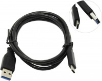 Кабель USB A -> C 1м KS-is <325B>