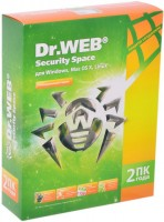 Антивирус Dr.Web Security Space Pro (2 ПК / 24 мес.) <BHW-B-24M-2-A3> (BOX)