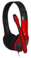 Полноразмерные наушники с микрофоном Oklick HS-M150 (20Гц–20кГц / 2м / 2x-jack3.5)