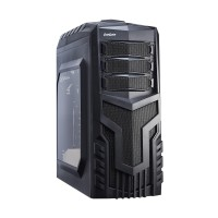 Корпус ATX без блока питания Exegate <EVO-8203> Black