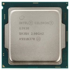 Процессор Intel Celeron G3930 2.9 GHz / 2core / HD G 610 / 0.5+2Mb / 51W / 8GT / s LGA1151 (OEM)