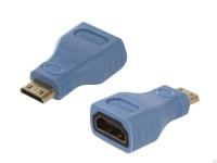 Переходник HDMI-F -> miniHDMI-M Greenconnect <GCR-50937>