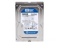 HDD 3.5 500 Gb Western Digital Caviar Blue <WD5000AZRZ> 5400rpm 64Mb SATA-III