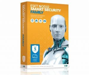 Антивирус ESET NOD32 Smart Security FAMILY (1 год 5 ПК) (BOX)