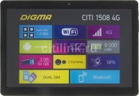 Планшет 10.1 Digma CITI 1508 MT8735w (1.3гц)  / 4core / 3Gb / 64Gb / FHD / IPS / 2Mp / 0.3Mp / GPS / Android 7