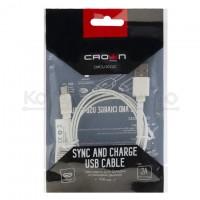 Кабель USB A -> C 1м Crown <CMCU-1022C>