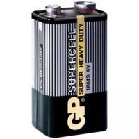 Элемент питания Крона уп.1шт. GP Super <1604S> (9V, Alkaline)