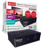 Цифровая приставка DVB-T2 D-COLOR DC600HD (RCA / HDMI / USB)