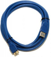 Кабель microUSB3.0 -> USB3.0 1.8м 5bites <UC3002-018>