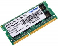 Память DDR3 SO-DIMM 8Gb <PC3-12800> Patriot <PSD38G1600L2S> CL11