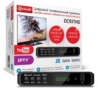 Цифровая приставка DVB-T2 D-COLOR <DC937HD> (RCA / HDMI / USB)