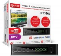 Цифровая приставка DVB-T2 D-COLOR <DC955HD> (RCA / HDMI / USB)